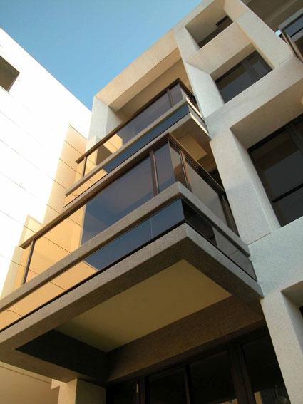 斜角透视手绘建筑图片